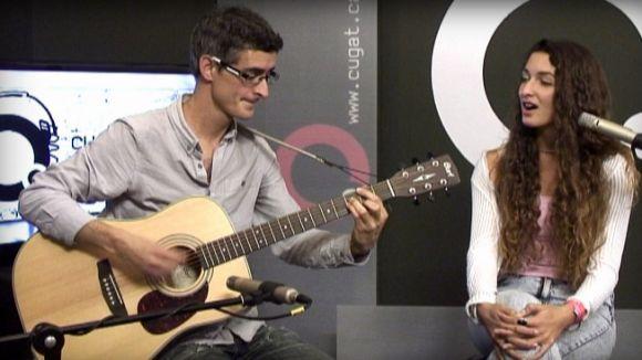 Gina i Guillem van actuar al programa 'Desendolla't' de Cugat.cat