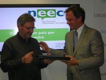 Un sistema per apagar incendis amb nitrogen líquid guanya el premi Ineeciativa