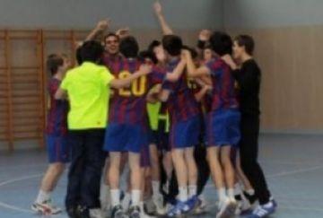 Jordi Giralt, porta el Barça al títol de campió d'Espanya