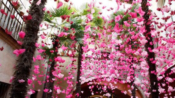 'Temps de Flors' apropa l'esplendor de la primavera a la capital gironina / Foto: Ajuntament de Girona