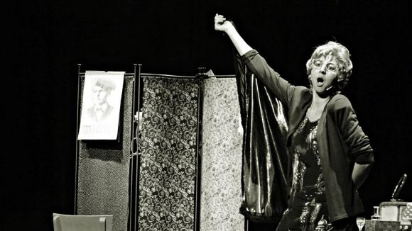 Gisela Figueras actua avui a la 20a Mostra de Teatre de Barcelona