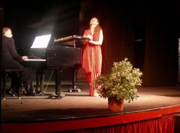 Daniel Alfonso i Glòria López es complementen a La Unió en un concert líric molt variat
