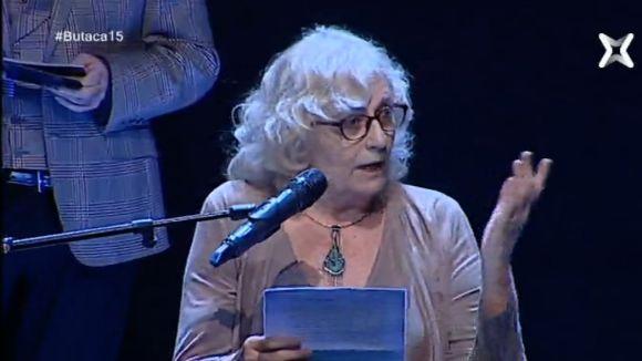 Els Butaca reconeixen la carrera de Glòria Rognoni en una nit amb accent local