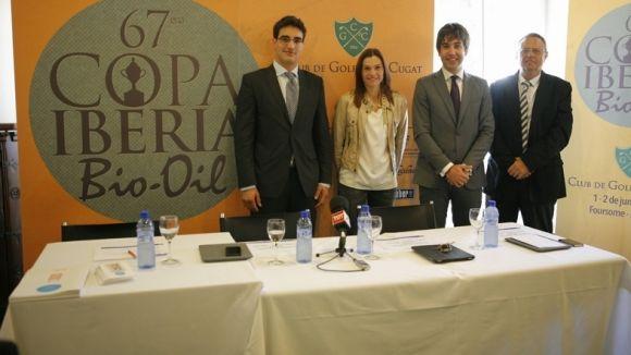 Imatge de la presentació de la Copa Iberia / Font: Artur Ribera