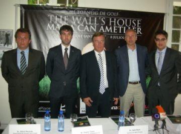 Presentada la 1a edició del torneig The Wall´s House Masia Can Ametller