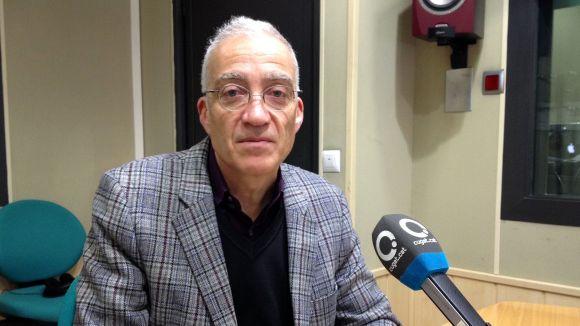 Manel González tanca una etapa al Muntanyenc / Font: Cugat Mèdia