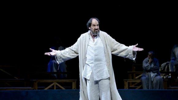 'Sócrates', de Mario Gas, arriba avui al Teatre-Auditori amb entrades exhaurides