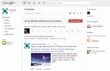 Cugat.cat suma Google+ a les seves xarxes socials