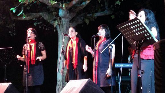 El grup de gòspel-fusió Esencia de Vida en una actuació