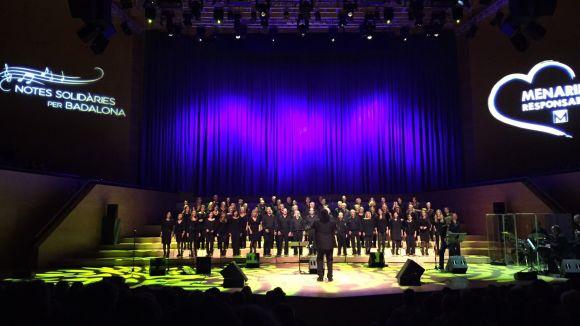 El concert benèfic de Menarini amb el Cor Gospel Sant Cugat recapta 25.000 euros