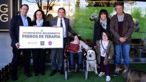 La Fundació la Caixa ajuda Dogking Service en el suport a persones amb malalties rares
