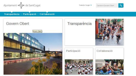 L'Ajuntament posa en marxa la web de 'Govern Obert'