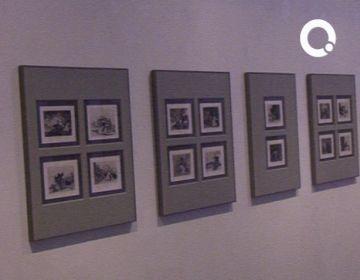 Una visita guiada apropa l'obra de Goya als santcugatencs