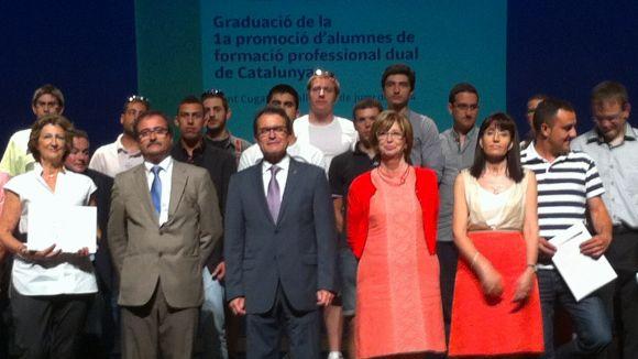 Sant Cugat acull la graduació de la primera promoció de FP Dual de Catalunya