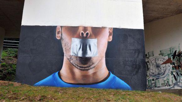 Un nou grafiti decora la Floresta