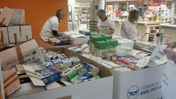 El Banc d'Aliments organitza a Sant Cugat una jornada de donatius