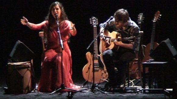 Sílvia Pérez Cruz i Raül Fernández Miró emocionen Sant Cugat amb 'granada'