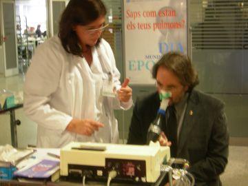 El Capio Hospital General ofereix proves gratuïtes per detectar l'EPOC