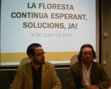 ERC denuncia l'estat 'deteriorat' i 'abandonat' de la Floresta