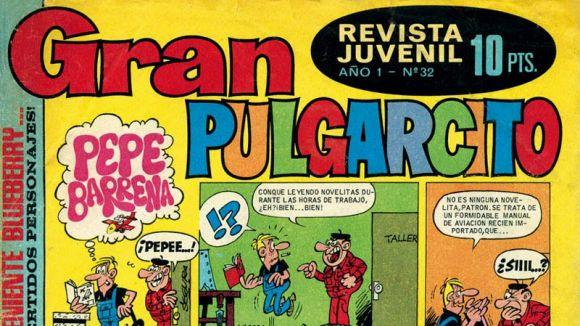 'Gran Pulgarcito' va ser un dels còmics que va llançar des de l'editorial Bruguera