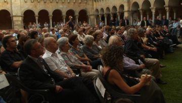 El compromís de fer perdurar el llegat de Grau-Garriga centra l'acte d'homenatge pòstum