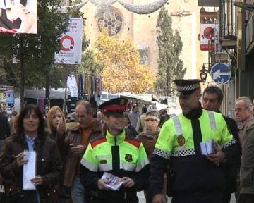 La Policia Local reforça la seguretat als carrers comercials amb un increment de patrulles mixtes