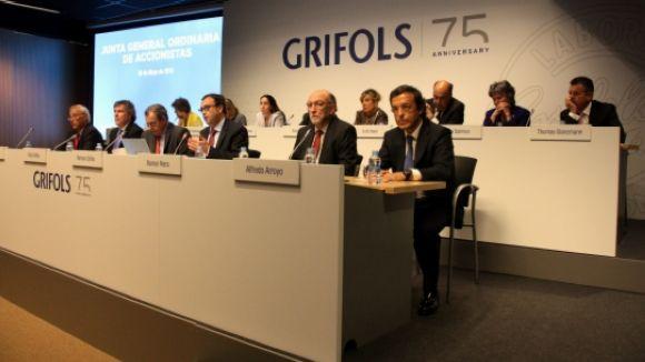 Grifols acorda repartir 188 milions d'euros en dividends