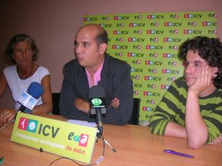 Xavier Boix es postula per entrar a l'executiva d'ICV