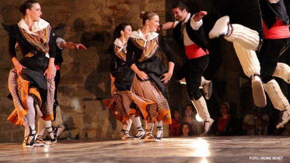 Segell santcugatenc en el Festival Sagrada Família amb el cos de dansa del Grup Mediterrània