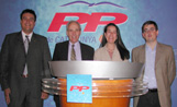 Martí García, Jaume Tarragó, Alfredo Bergua i Berta Rodríguez són els quatre regidors que actualment té el PP a l'Ajuntament