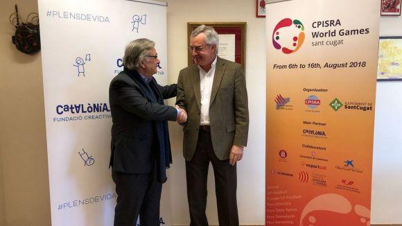Muñoz i Serrahima, durant la formalització de l'acord / Font: FECPC