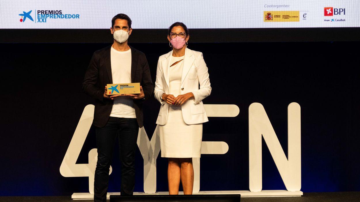 Shotl, guardonada als Premis EmprenedorXXI / Foto: CaixaBank