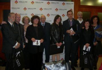 Els guanyadors del Premi Literari de Valldoreix reben el guardó com a impuls a la seva carrera