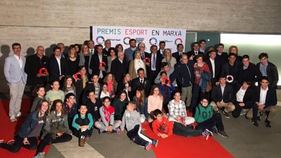 Aquests són els guanyadors de l'última edició dels Premis Esport en Marxa
