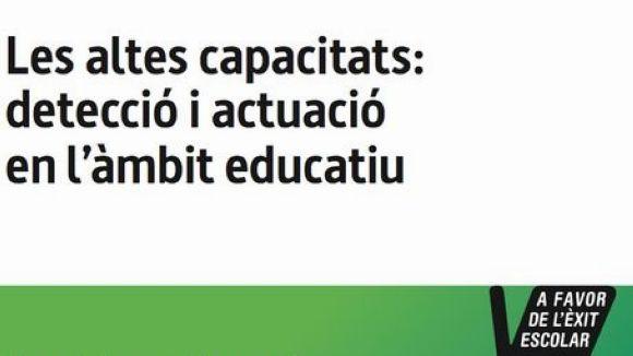 Generalitat i FANJAC avancen en la integració de joves superdotats