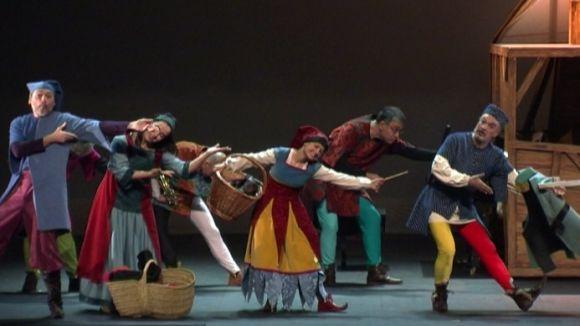 'Guillem Tell' apropa l'òpera als infants amb un muntatge ple de recursos visuals