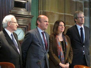 De Guindos replica a la Cecot que els pressupostos no són una 'venjança' amb Catalunya