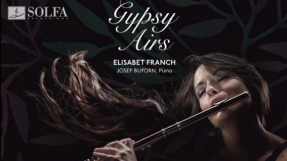 La flautista Elisabet Franch presenta el seu primer disc, 'Gypsy Airs'