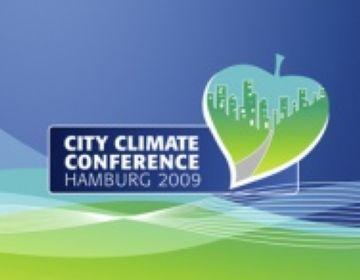 Logotip de la trobada d'alcaldes d'Hamburg