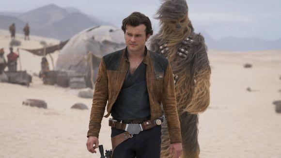 Moment del film sobre Han Solo