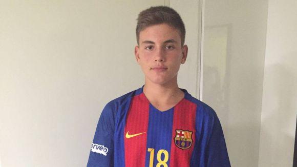 El mirasolenc Marcos Montiel fitxa per l'infantil del Barça d'handbol