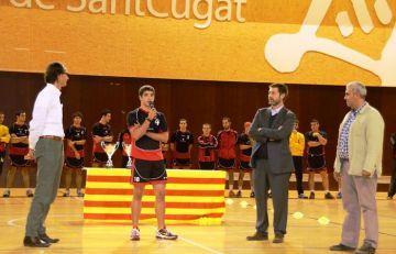 El jugador juvenil de l'Handbol Sant Cugat, Àlex Ortega, convocat amb Catalunya