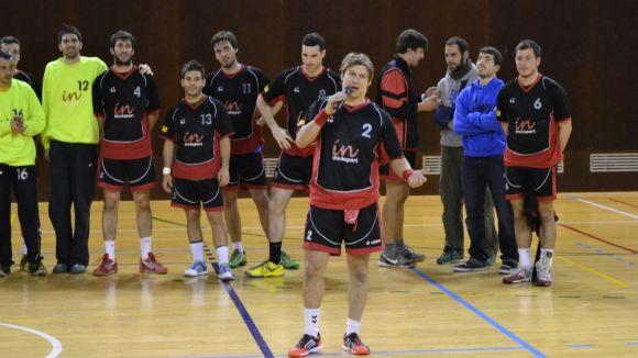 L'Handbol Sant Cugat guanya el Vilamajor i agraeix el suport de l'afició