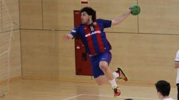 L'extrem dret Matías Galán, procedent del Barça B, és el primer fitxatge de l'Handbol Sant Cugat