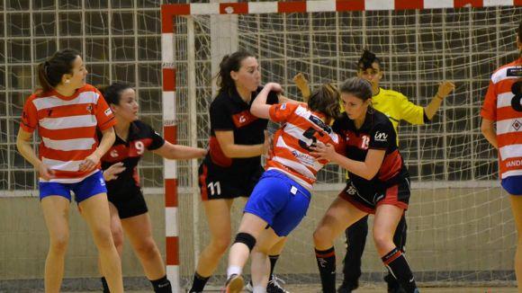 L'Handbol Sant Cugat femení cau contra el Vic i no suma la tercera victòria consecutiva