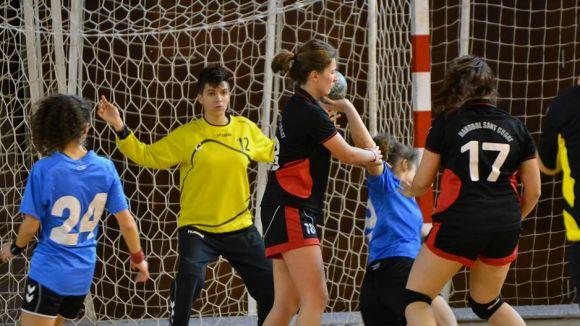 L'Handbol Sant Cugat femení rep a la Floresta el Garbí, un rival assequible