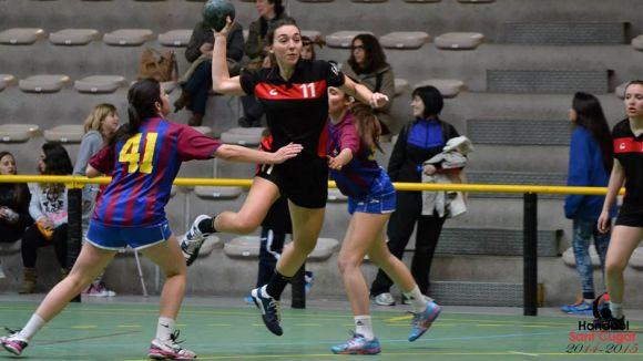 L'Handbol Sant Cugat inicia la Copa Federació a la pista del Cardedeu B