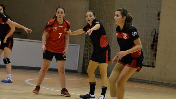 L'Handbol Sant Cugat femení suma el segon triomf seguit