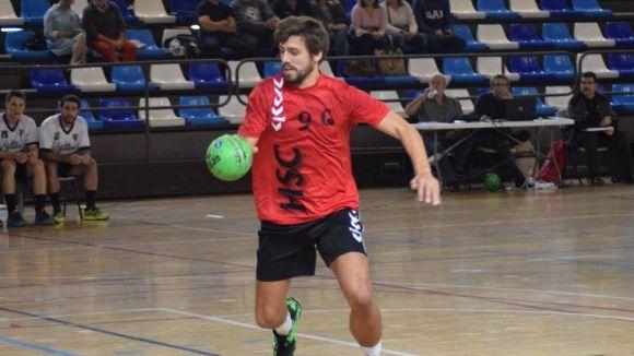 L'Handbol Sant Cugat s'apaga a la segona part i encaixa una perillosa derrota davant el JH Mataró
