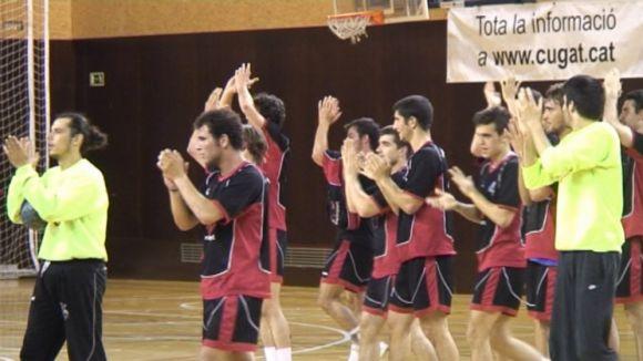 L'Handbol Sant Cugat inicia la fase d'ascens a Primera Nacional golejant el Mata de Jonc